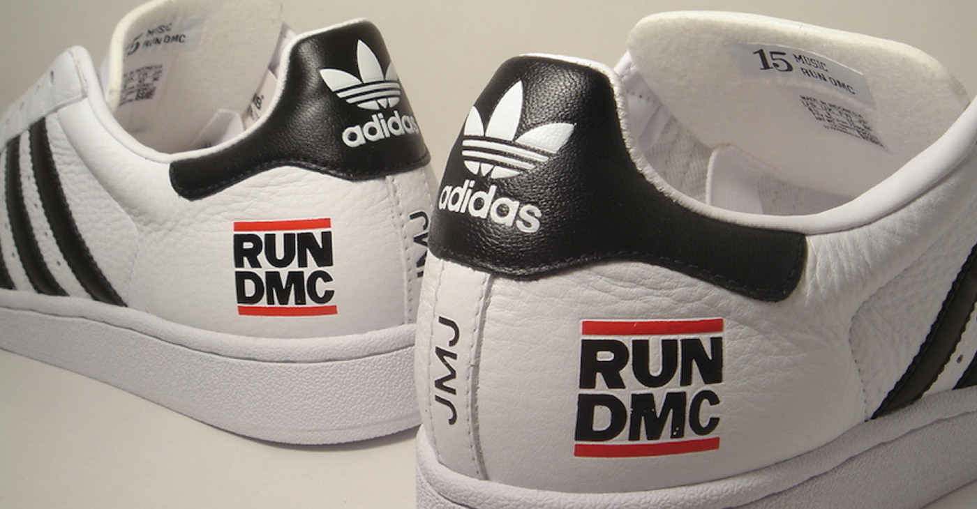 Adidas, the famed sneaker company that inspired the 1986 hit song is honoring Run (Joseph Simmons), DMC (Darryl McDaniels), and the late Jam Master Jay (Jason Mizell).
