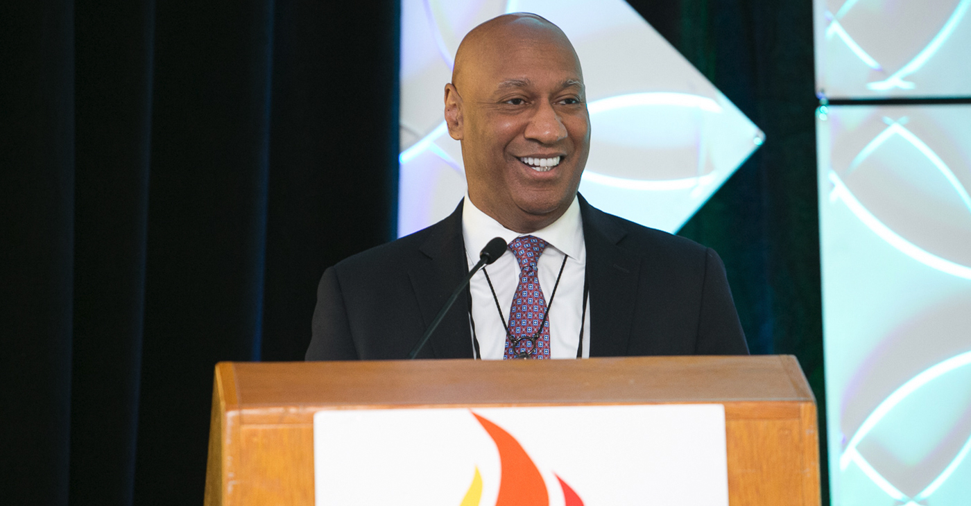 "Dr. Kevin Williams, the chief medical officer for Pfizer Rare Disease, addressed the conference during a Pfizer-hosted breakfast presentation titled, ""African Americans and Heart Disease – New Research Breakthrough: Announcing 2020 Partnership between Pfizer and NNPA."""