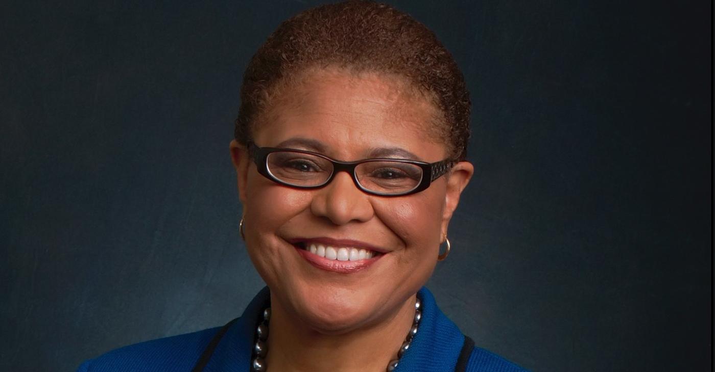 Rep. Karen Bass (D-CA), the current Chair of the Congressional Black Caucus.