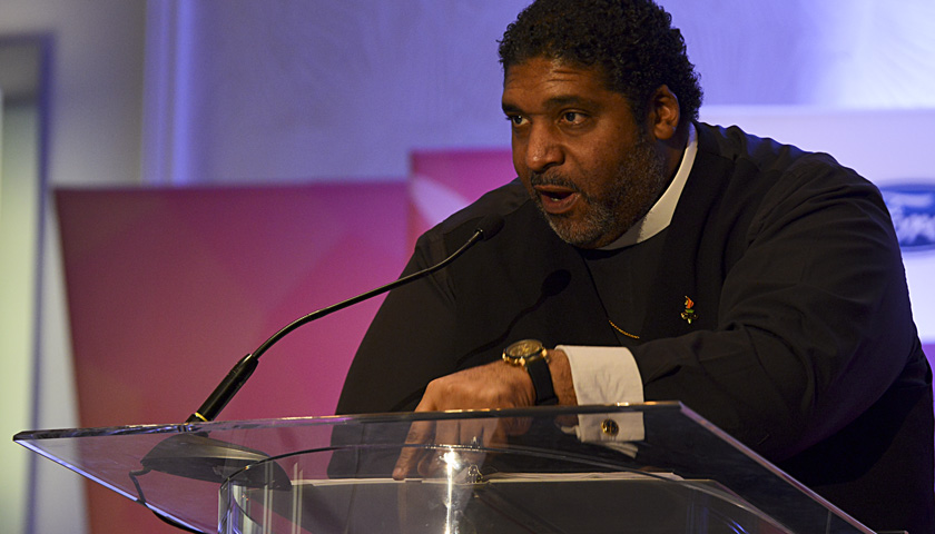 EXCLUSIVE: Rev. Dr. William Barber Addresses Systemic Racism & Vot
