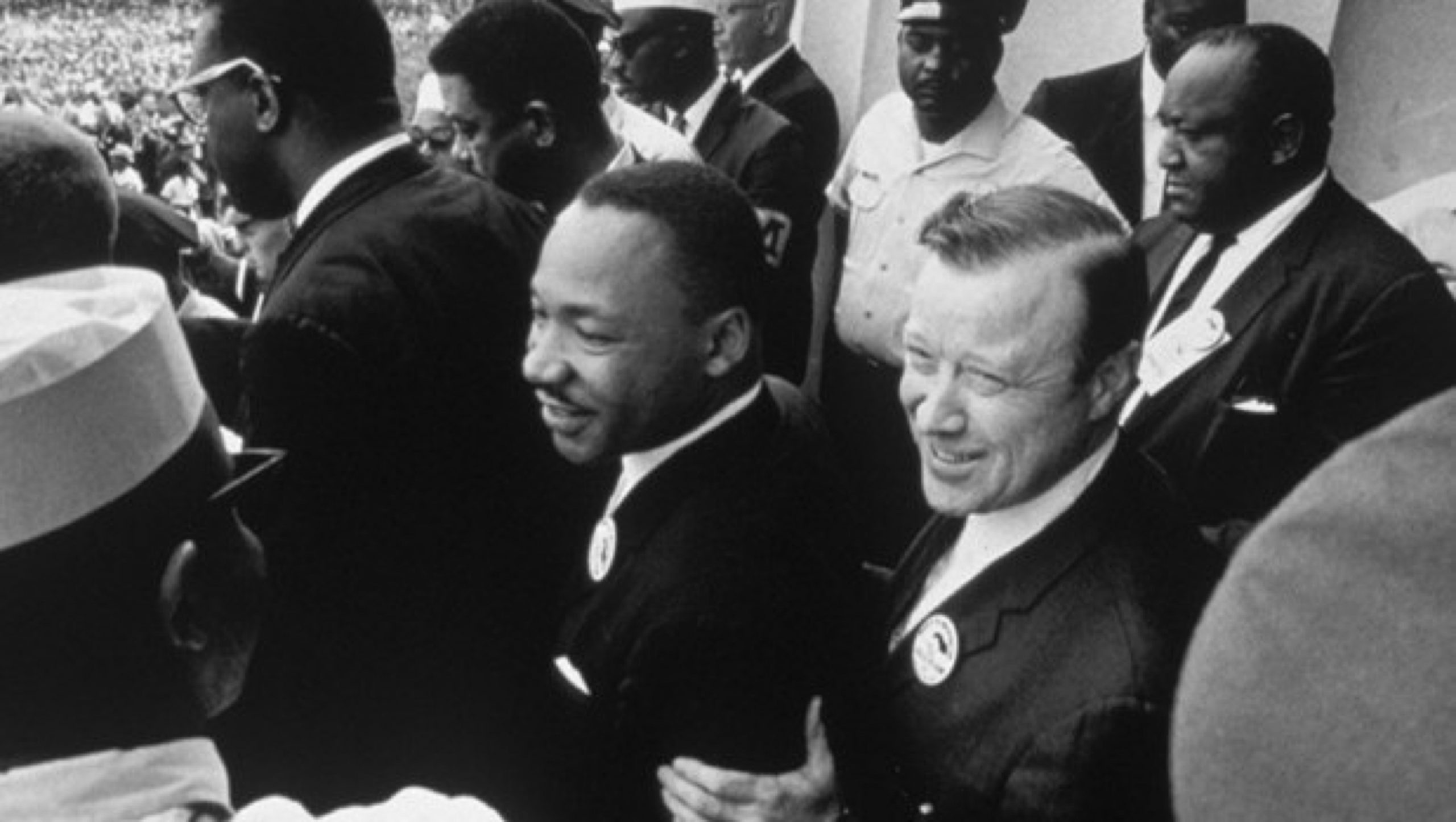 1965 — Doctor Martin Luther King Jr. and Walter Reuther, President of the UAW and the March on Washington