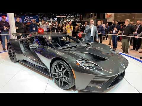 2020 Chicago Auto Show – Ford GT Walkaround – AutoNetwork.com