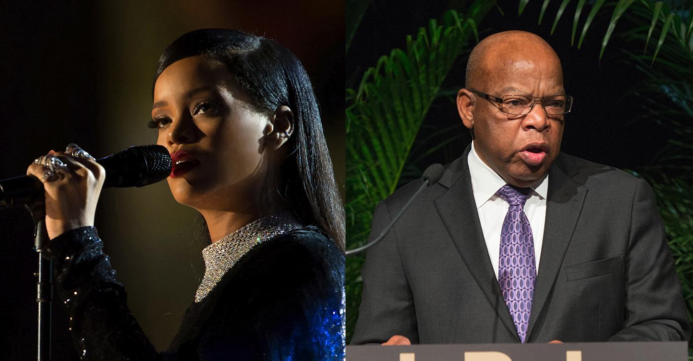 Rihanna and Congressman John Lewis to be Honored at NAACP Image Awards