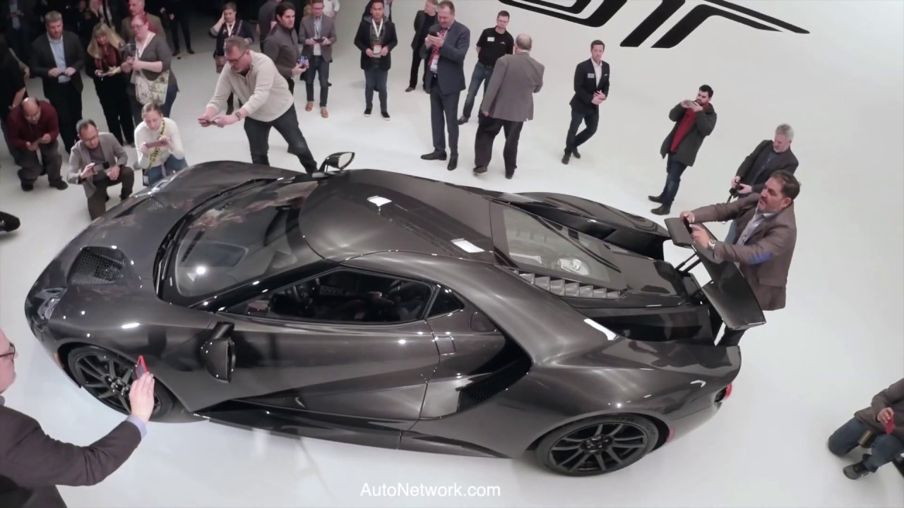 2020 Ford GT Supercar Liquid Carbon Press Conference and Reception – Chicago Auto Show