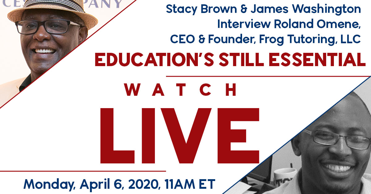 The live stream included Frog Tutoring Founder and CEO Roland Omene, NNPA Senior Correspondent Stacy Brown, and James Washington, the publisher of the Dallas Weekly Newspaper, a member of the Black Press of America.