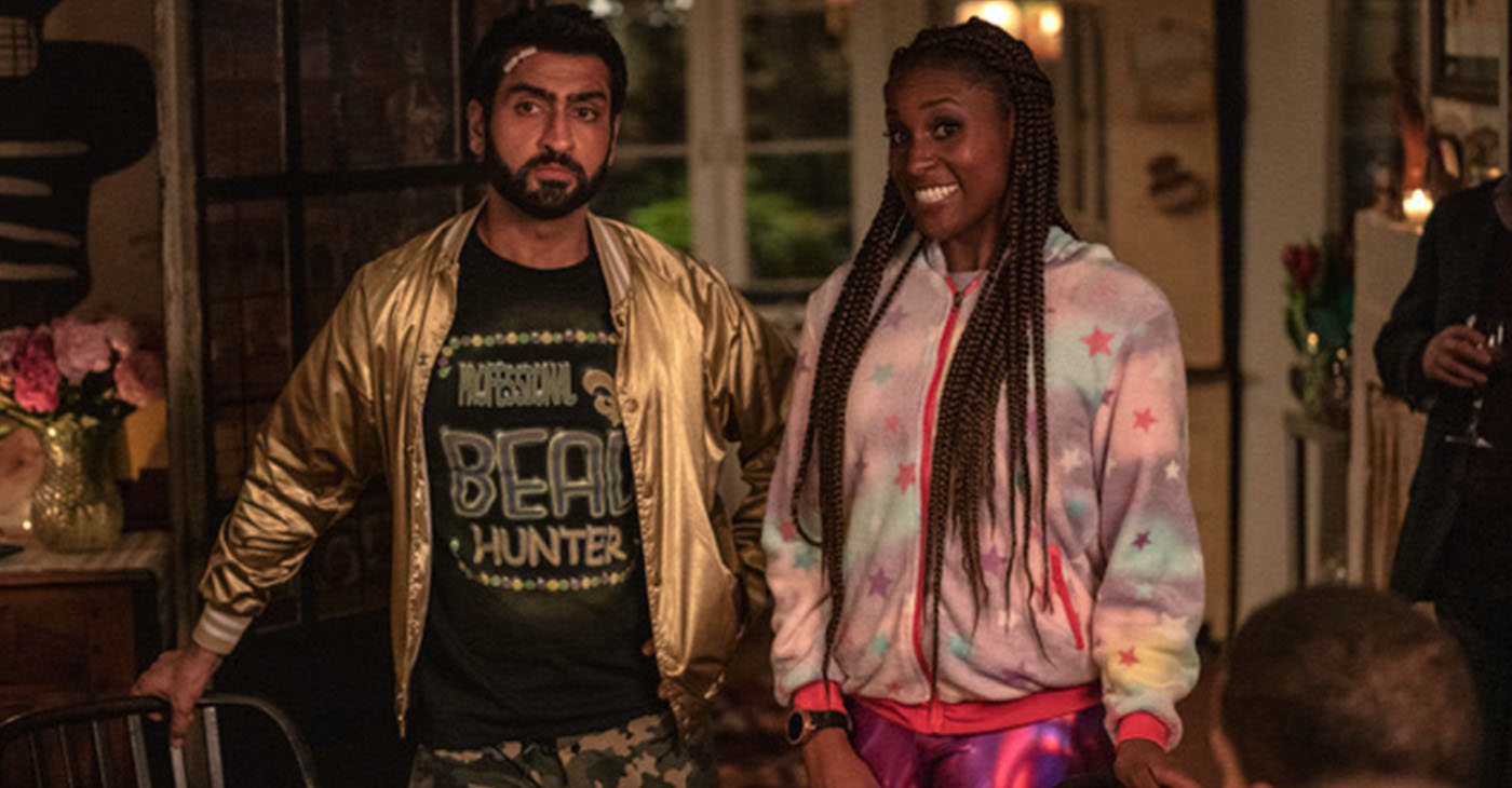 Every happy couple has one moment that defines their relationship. #TheLovebirds stars Issa Rae and Kumail Nanjani. (Photo courtesy of Paramount Pictures)