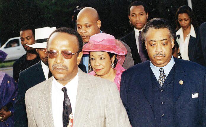 Gantt with Frederica Wilson and Rev. Al Sharpton