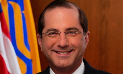 United States Secretary of Health and Human Services, Alex M. Azar II (Photo: Official Photo: United States Department of Health and Human Services / Wikimedia Commons)
