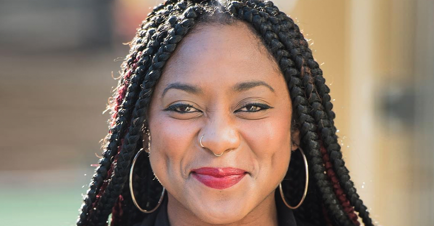 """Seeing Black Lives Matter (BLM) signs held by protestors in all 50 states, including in many small towns with few Black residents, Garza said, """"It's humbling to see it and to have been a small part of it."""" She is heartened that people are awakening. (Photo: Courtesy Alicia Garza Facebook)"""
