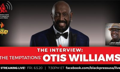 The Temptations' Otis Williams joined BlackPressUSA for an exclusive live interview to discuss music, history and social change.