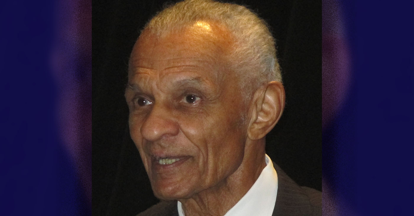 C.T. Vivian addressing the annual convention of the Association for the Study of African American Life and History in Atlanta, September 27, 2015.