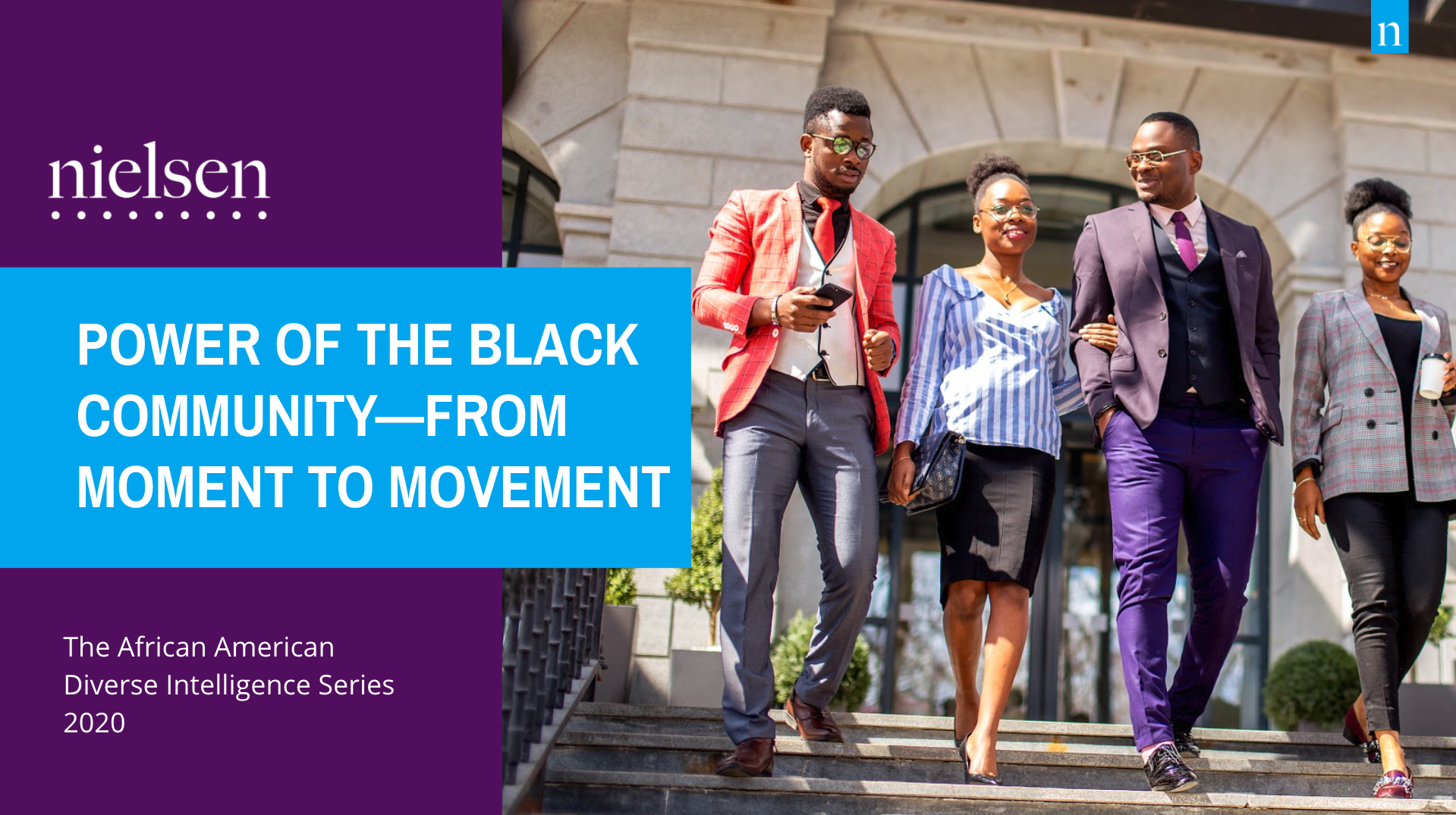 """""""African Americans are calling out systemic racism while at the same time creating opportunities for growth across social platforms and businesses with various levels of innovation,"""" said Cheryl Grace, Senior Vice President of Consumer Insights and Engagement, Nielsen."""