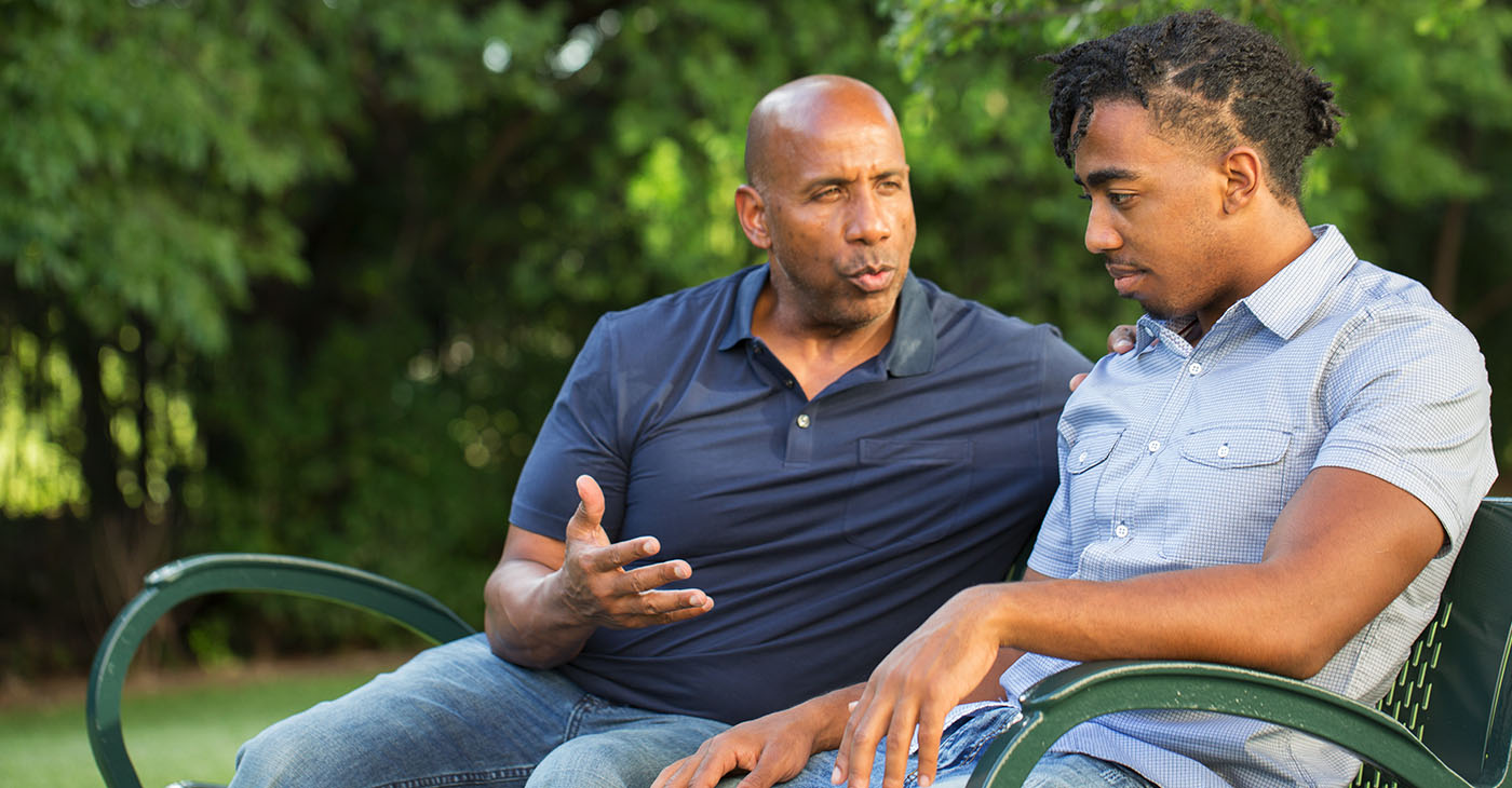 """Have """"The Talk"""" with your children. Remind them to contain themselves, contain their unthought out fears, and contain their anger. (Photo: iStockphoto / NNPA)"""