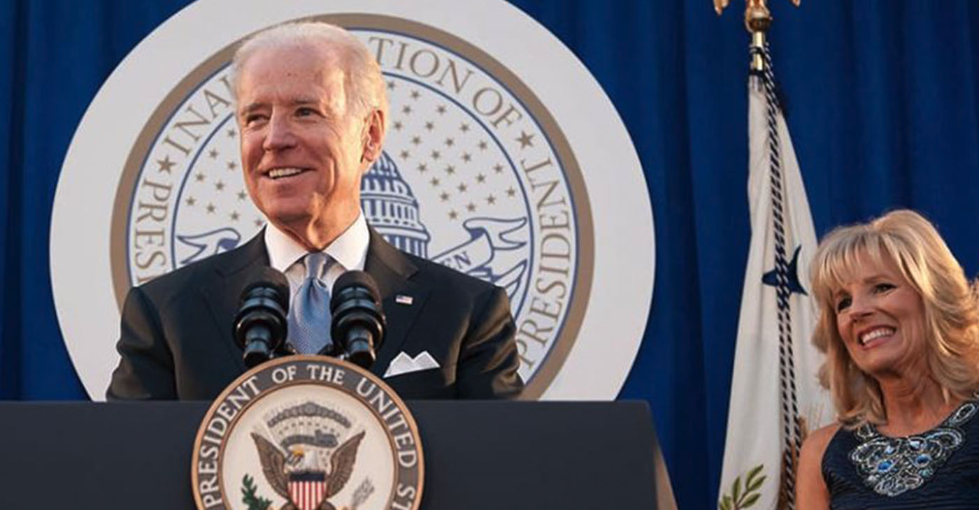 """""""Our work begins with getting COVID under control,"""" Biden told thousands of people in Wilmington, Delaware. On November 9, Biden will formally announce a task force to confront the COVID-19 crisis. (Photo: jobebiden.com)"""