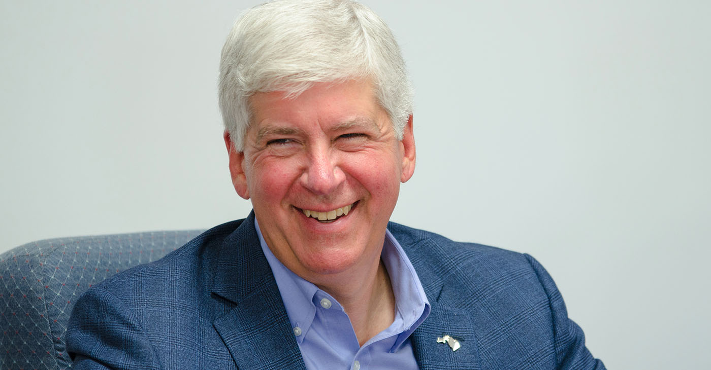 Former Michigan Gov. Rick Snyder (Provided by the Office of Governor Rick Snyder / Wikimedia Commons