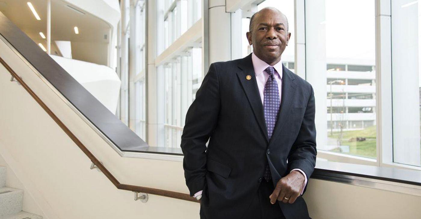Meharry Medical College President and CEO Dr. James Hildreth.