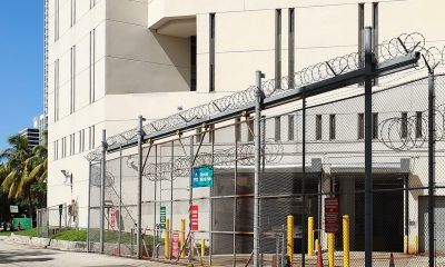 Exacerbating the alarm for civil and human rights organizations is the record of malpractice that private prison companies in Florida have. (Photo: Entrance to the Broward County Main Jail Bureau. The Main Jail is an eight-story maximum security facility next to the Broward County Courthouse. iStockphoto / NNPA)