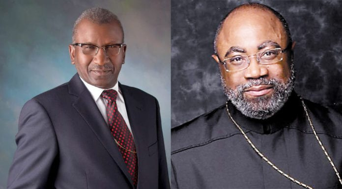 Bishop David Allen Hall (left) was elected to the COGIC General Board, joining fellow Memphian Bishop Brandon B. Porter, who was reelected and will serve as secretary. (Courtesy photos)