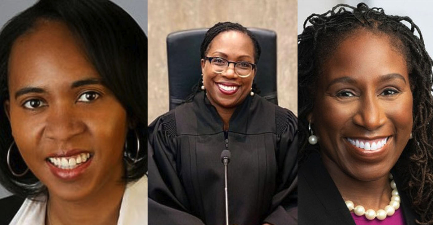 For his first three federal Court of Appeals nominations, President Biden named three Black women— Tiffany Cunningham, Ketanji Brown Jackson, and Candace Jackson-Akiwumi.