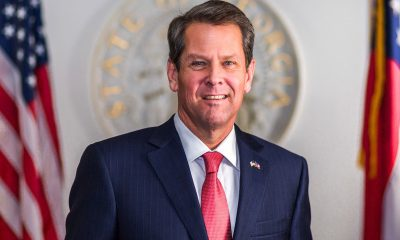 "Critics of the reform initiatives cite that the wave of GOP sponsored bills are in large part a reaction to the ""big lie"" perpetrated by the Trump administration's claims that the 2020 presidential election was rife with illegal voting and voter fraud, although Trump's claims proved to be false. (Photo: Portrait of Georgia Governor Brian P. Kemp / Office of Gov. Brian P. Kemp / Wikimedia Commons)"