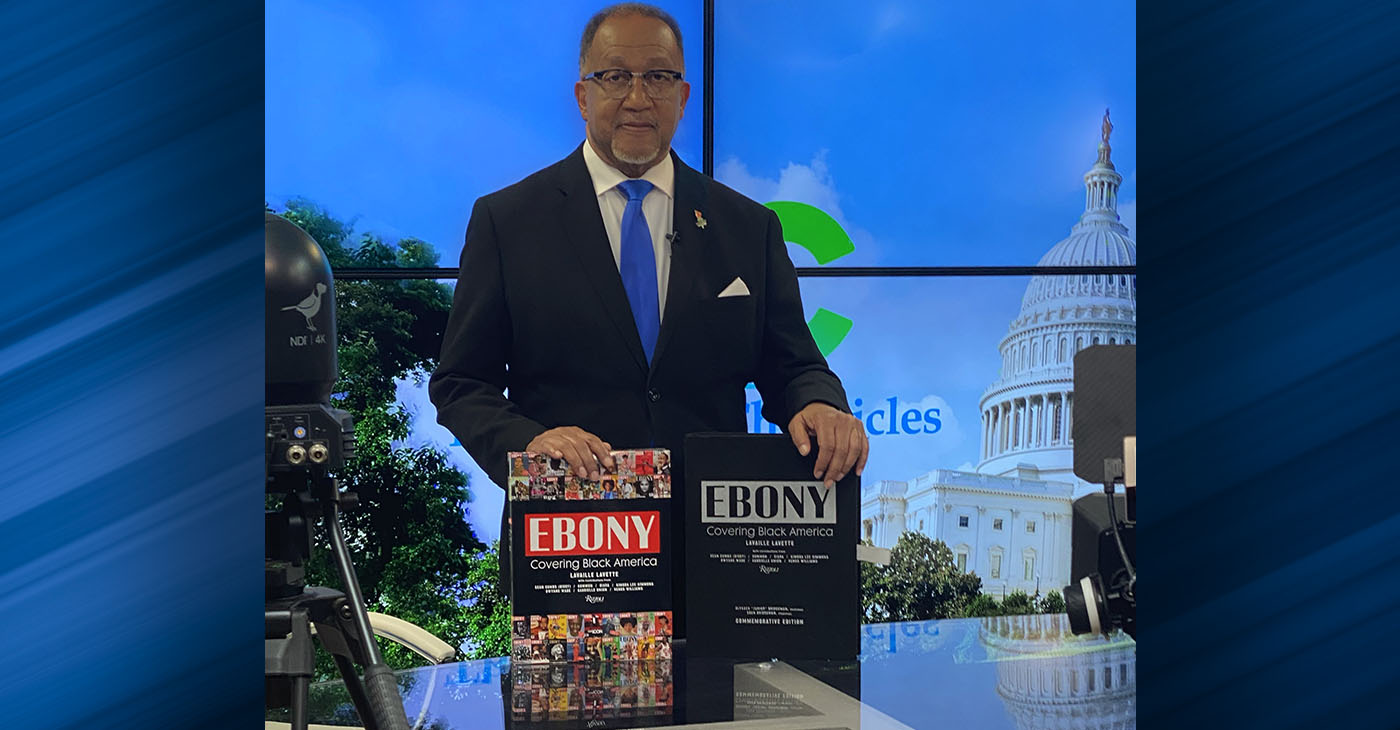 Lavaille Lavette's expansive book counts as a national treasure, which the publisher said marks not only history but also makes history. (Photo: Dr. Benjamin F. Chavis Jr., president and CEO, National Newspaper Publishers Association.