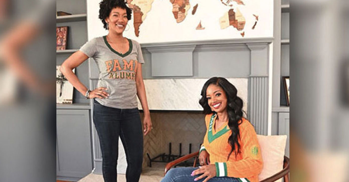 Fearless Fund co-founders, Ayana Parson (standing) and Arian Simone (seated). (Photo credit: Fearless Fund)