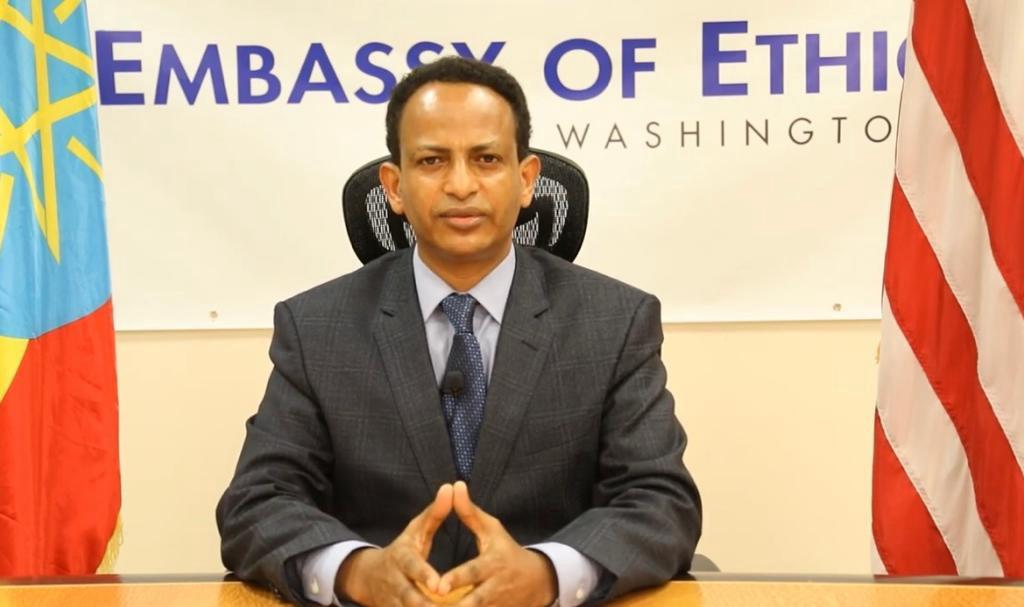 Fitsum Arega is the Ethiopian Ambassador to the United States.