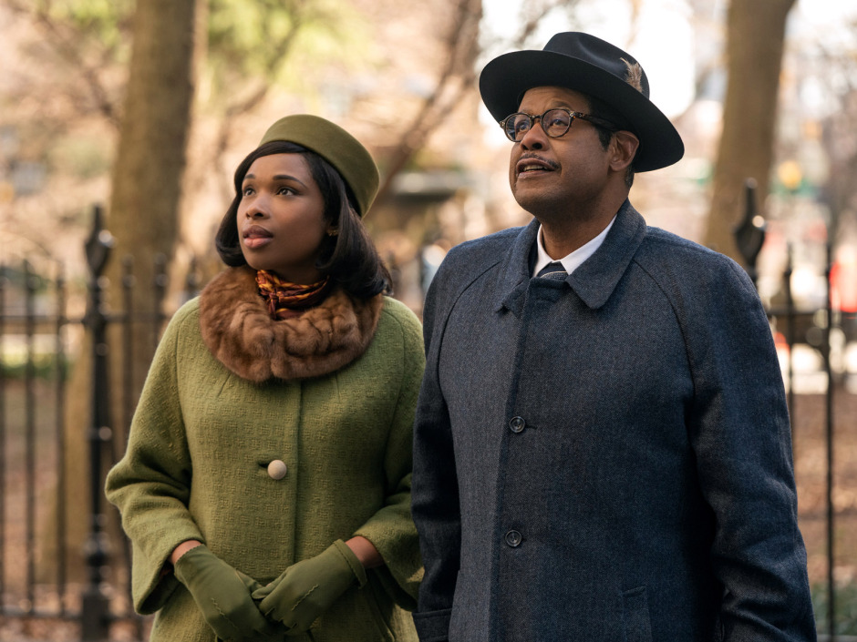 Jennifer Hudson stars as Aretha Franklin and Forest Whitaker as her father C.L. Franklin in RESPECT A Metro Goldwyn Mayer Pictures film Photo credit: Quantrell D. Colbert