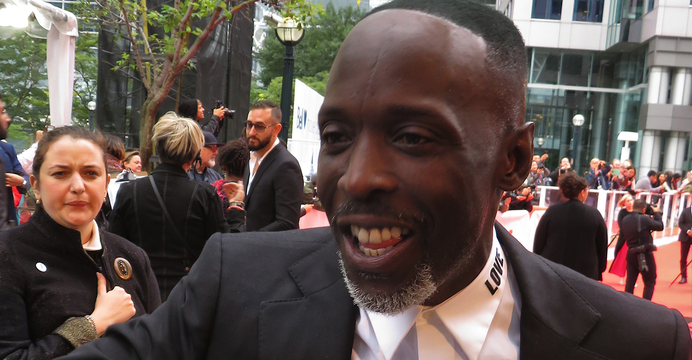 Michael Kenneth Williams at the premiere of The Public, 2018 Toronto Film Festival (Photo: Wikimedia Commons)