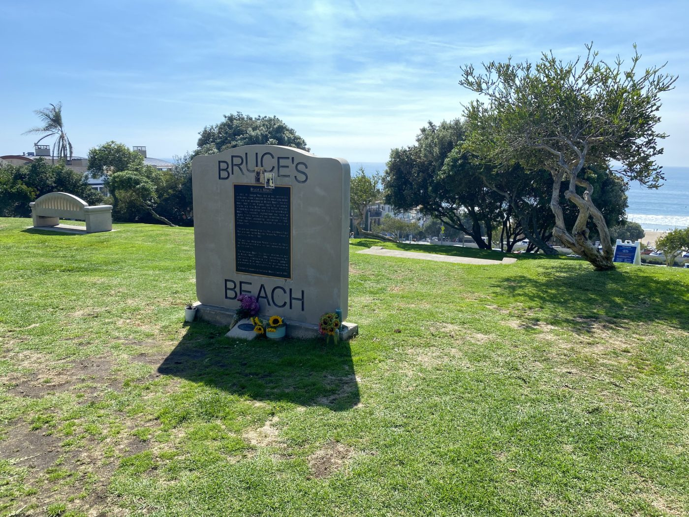 Bruce's Beach was an oasis for Black beachgoers a century ago. (Brandon I. Brooks/L.A. Sentinel)