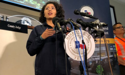 Harris County Judge Lina Hidalgo (Photo by: defendernetwork.com)